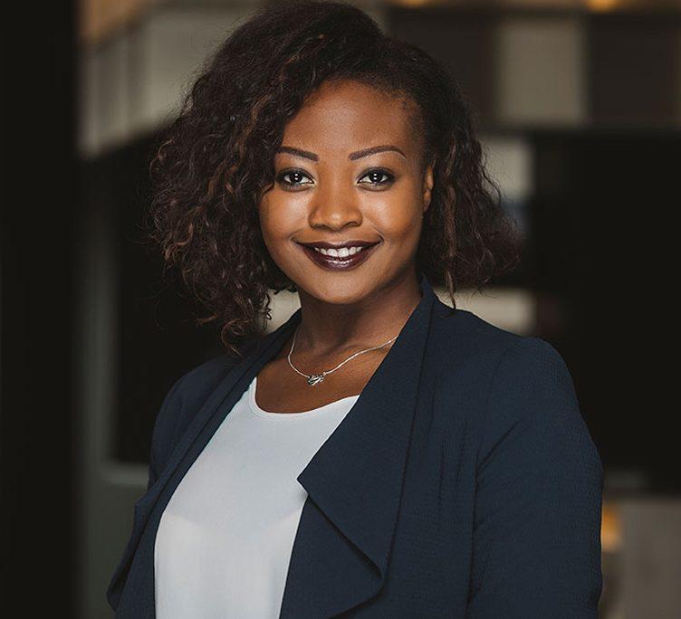Germaine Houessou, zuständig für Vertrieb von studentischem Wohnen und Eigentumswohnungen bei der Cube Real Estate GmbH