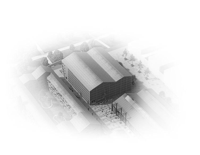 Visualisierung Quartier Cube Factory 577, neue Bahnstadt Opladen, Eigentumswohnungen, Apartments