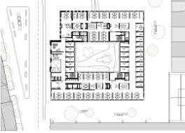 Grundriss von Büroflächen und Büroräumen in der Cube Factory 577 für Gewerbe und Unternehmen